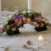 OASIS® Black Table Deco Mini Floral Foam Black 4pcs