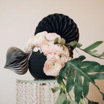 Floral foam ball black black Ø16cm 2pcs