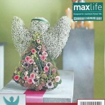 Floral foam angel with stand-up dimensions 45cm x 34cm