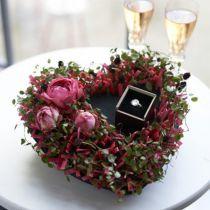 Floral foam black 17cm 2pcs wedding decoration