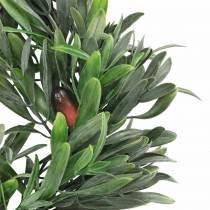 Olive wreath artificial green Ø28cm decoration mediterranean