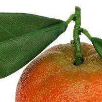 Orange with leaf 7cm 4pcs