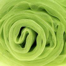 Decoration fabric organza green 150cm x 300cm