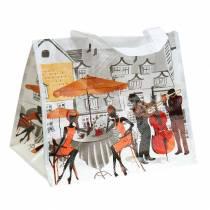 Shopping bag with handles Bella Vita plastic 32 × 21 × 26cm