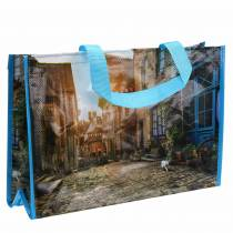 Shopping bag with handles Brittany plastic 45 × 14 × 30cm shopper