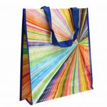Shopping bag with handles Mikado plastic 37 × 10 × 40cm