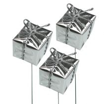 Package on the wire Silver 2,5cm 60pcs