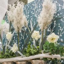 Pampas Grass White Artificial Dry Grasses Artificial Plants