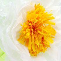 Paper flower 28cm for hanging sort. 2st
