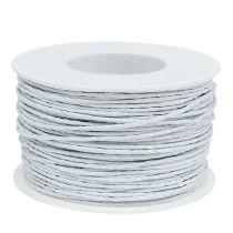Paper wire white 2mm 100m