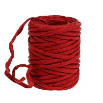 Paper cord 6mm 23m red