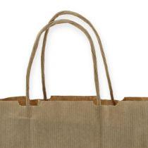 Paper bag 18cm x 8cm x 22cm 50pcs