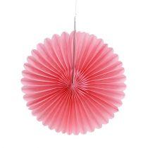 Party decoration honeycomb paper flower Ø20cm 3pcs