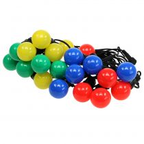 Party fairy lights colorful for outside 20 LEDs 9.5m