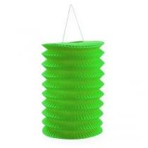 Paper lantern green 10cm H13cm 8pcs