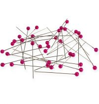 Pearl head needles Ø6mm 65mm pink