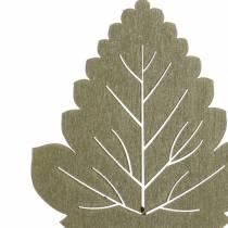Plant plug leaf 8-10cm nature / green / purple 24pcs