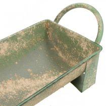 Planter, decorative gutter, antique-look flower box L51cm