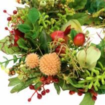 Autumn wreath Physalis Ø30cm