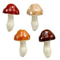 Mushrooms sorted 3cm x 5cm on wire 48pcs