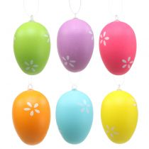 Easter eggs for hanging colorful 6cm 12pcs