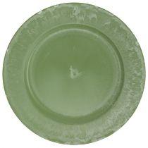 Place plate Green Ø25cm