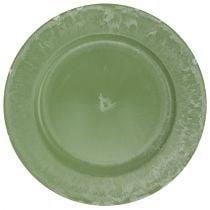 Presentation plate green Ø30cm