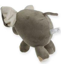 Plush Elephant 20cm Gray