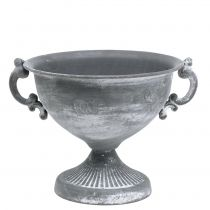Cup gray Ø20cm H17.5cm
