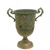 Planting cup, decorative goblet, amphora for planting Ø18.5cm H31.5cm