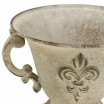 Cup Vintage Cream Ø15cm H13,5cm