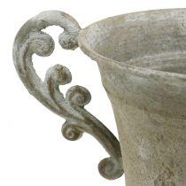 Antique cup gray Ø14.5cm H21cm