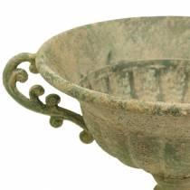Cup bowl antique green Ø26cm H20,5cm