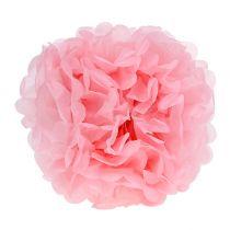 Paper Pom-pom Light Pink Ø30cm 5pcs