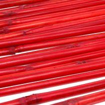 Rattan handles red 100cm 20p.