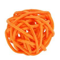 Rattanball Orange Yellow Apricot 72pcs