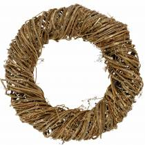 Vine wreath Ø50cm natural