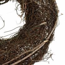 Vine wreath nature Ø30cm 2pcs