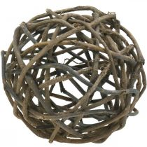 Decorative ball grapevine natural dark Ø25cm