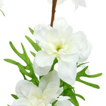 Delphinium artificial white 95cm