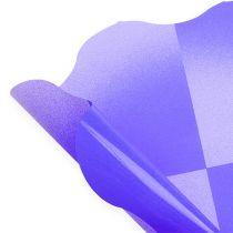 Flower cuff Ø40cm Purple 50pcs