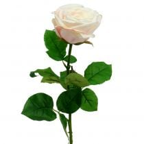 Artificial rose cream 69cm