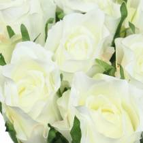 Rose White 42cm 12pcs
