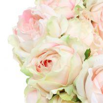 Rosary Cream / Pink Ø30cm