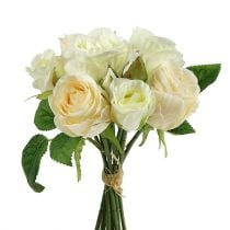 Rose bouquet cream 26cm
