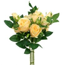 Rose bouquet cream L46cm