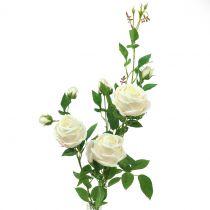 Rose branch crème / rosè 100cm
