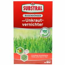 Substral lawn fertilizer with weed killer 2kg