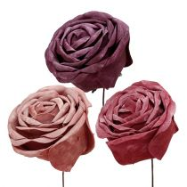 Foam Rose Mix Ø10cm 6pcs