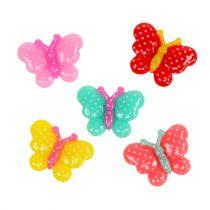 Butterflies Mini 2cm multicolored 24pcs